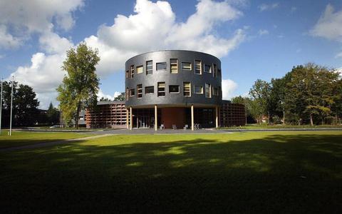 Het gemeentehuis in Oosterwolde.