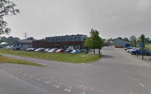 De accommodatie van de Buitendienst aan de Nanningaweg in Oosterwolde.