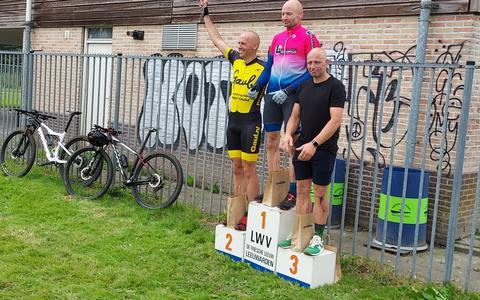 Arjan Broekema wordt eerste.
