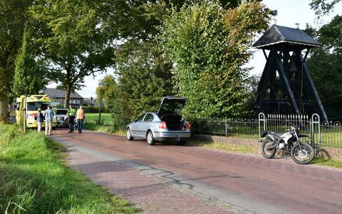 Het ongeval gebeurde rond 17.40 uur ter hoogte van de begraafplaats.