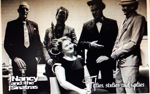 Nancy and the Sinatras.