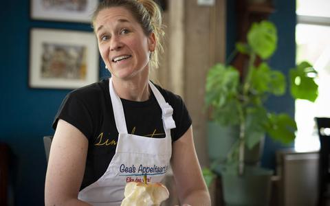 'Ik ben niet degene die alleen maar taarten bakt': Gea Riksen is blij met waardering